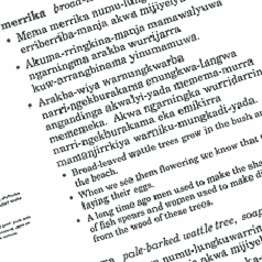 Our Language - Groote Eylandt Language Centre